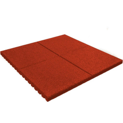 PROTECTION DE SOL EN DALLE PREMIUM 2,5CM - ROUGE