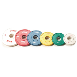 DISQUE COMPETITION IWF 2,5KG ROUGE