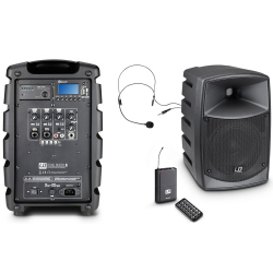 LD SYSTEMS ROADBUDDY 6 HS - ENCEINTE AMPLIFIEE PORTABLE