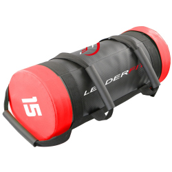 POWER BAG 15KG - ROUGE ET NOIR
