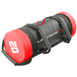 POWER BAG 20KG - ROUGE ET NOIR