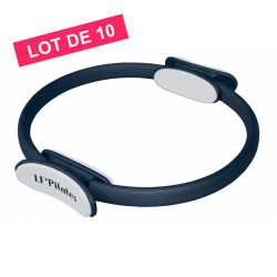 LOT DE 10 PILATES RING NOIR LF'