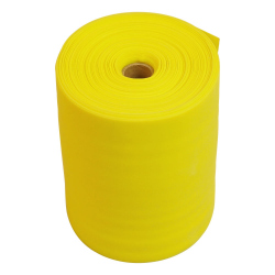 BANDE LATEX ROULEAU MEDIUM - JAUNE - 25M