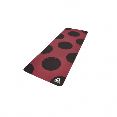 TAPIS DE YOGA 4mm - MAT (POE) - SHUT UP ARE AWESOME - ROUGE
