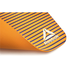 TAPIS DE YOGA MAT (POE) - 4mm - CALM AND READY - ORANGE