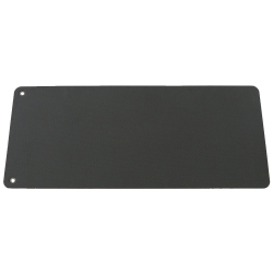 TAPIS CONFORT PILATES & GYM DOUCE - 140CM - NOIR