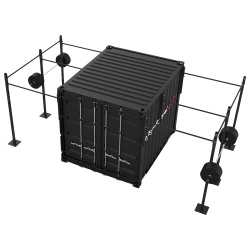 CONTAINER CROSS TRAINING BETA - 10 PIEDS