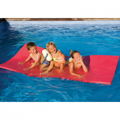 tapis flottant en mousse pour piscine aqua fitness. Black Bedroom Furniture Sets. Home Design Ideas